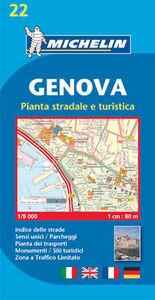 Foto Cover di Genova 1:8.000, Libro di  edito da Michelin Italiana
