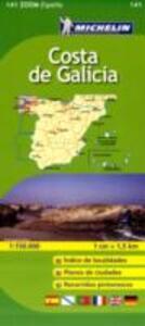 Costa de Galicia 1:150.000. Ediz. multilingue - copertina