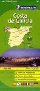 Libro Costa de Galicia 1:150.000. Ediz. multilingue