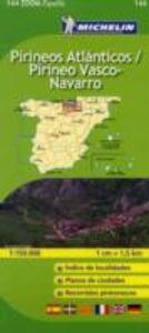 Foto Cover di Pireneos Atlánticos. Pireneos Vasco-Navarro 1:150.000. Ediz. multilingue, Libro di  edito da Michelin Italiana