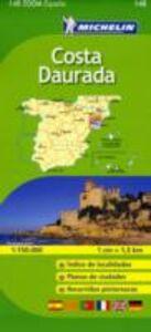 Foto Cover di Costa Dorata 1:150.000. Ediz. multilingue, Libro di  edito da Michelin Italiana