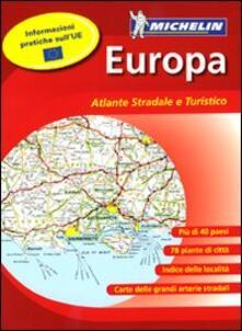 Cartina Stradale Michelin Italia.Europa Atlante Stradale E Turistico 1 500 000 1 3 000 000 Libro Michelin Italiana Gli Atlanti Stradali Ibs