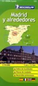 Madrid y alrededores 1:170.000. Ediz. multilingue