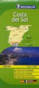 Libro Costa del Sol 1:200.000. Ediz. multilingue