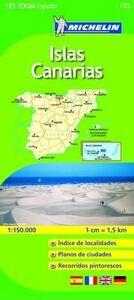 Foto Cover di Islas Canarias 1:150.000. Ediz. multilingue, Libro di  edito da Michelin Italiana