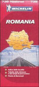 Romania 1:750.000 - copertina