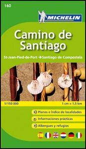 Foto Cover di Camino de Santiago 1:150.000, Libro di  edito da Michelin Italiana