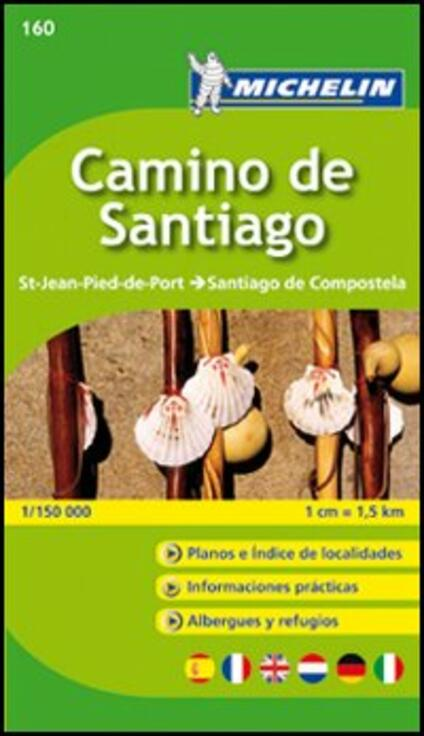Camino de Santiago 1:150.000 - copertina