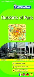 Libro Outskirts of Paris 1:53.000
