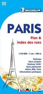 Paris. Planes et index 1:10.000