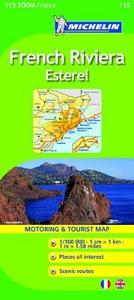 Libro French Riviera. Esterel. 1:100.000. Ediz. italiana e inglese