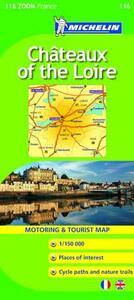 Châteaux of the Loire 1:150.000
