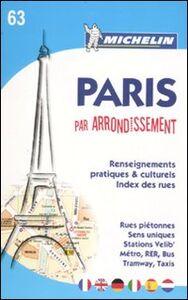 Libro Paris par arrondissement