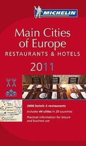 Main cities of Europe 2011. Restaurants & hotels - copertina