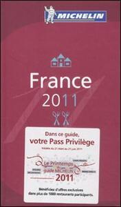 France 2011. La guida rossa - copertina
