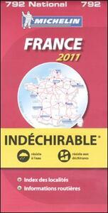 France 2011. Indéchirable - copertina