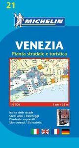 Foto Cover di Venezia. Pianta stradale e turistica. 1:5.500. Ediz. multilingue, Libro di  edito da Michelin Italiana