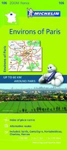 Libro Environs of Paris 1:100.000. Ediz. multilingue