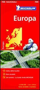 Foto Cover di Europa 1:3.000.000, Libro di  edito da Michelin Italiana