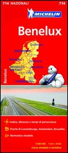 Libro Benelux 1:400.000
