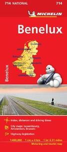 Benelux 1:400.000 - copertina