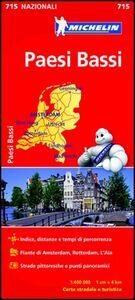 Libro Paesi Bassi 1:400.000