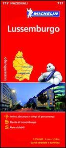 Foto Cover di Lussemburgo 1:150.000, Libro di  edito da Michelin Italiana