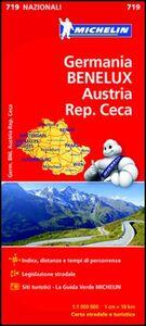 Foto Cover di Germania, Benelux, Austria, Repubblica Ceca 1:1.000.000, Libro di  edito da Michelin Italiana