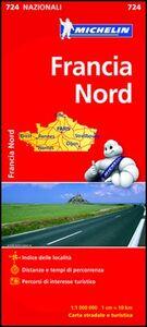 Foto Cover di Francia nord 1:1.000.000, Libro di  edito da Michelin Italiana