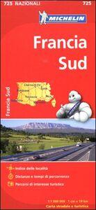 Foto Cover di Francia sud 1:1.000.000, Libro di  edito da Michelin Italiana