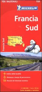 Libro Francia sud 1:1.000.000