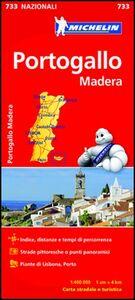 Foto Cover di Portogallo, Madera 1:400.000, Libro di  edito da Michelin Italiana