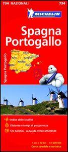 Libro Spagna Portogallo 1:1.000.000