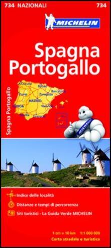 Warholgenova.it Spagna Portogallo 1:1.000.000 Image