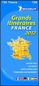 Route planning France 2012 1.000.000 - copertina