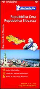 Libro Repubblica Ceca, Repubblica Slovacca 1:600.000