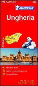 Libro Ungheria 1:400.000