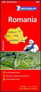 Libro Romania 1:750.000