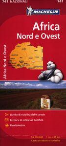 Foto Cover di Africa nord ovest 1:4.000.000, Libro di  edito da Michelin Italiana