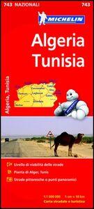 Foto Cover di Algeria, Tunisia 1:1.000.000, Libro di  edito da Michelin Italiana