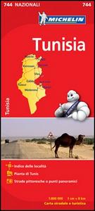 Libro Tunisia 1:800.000