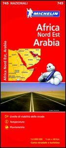 Libro Africa Nord Est, Arabia 1:4.000.000