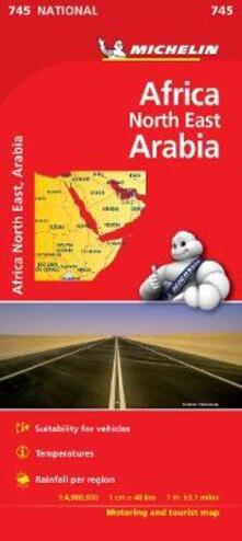 Africa nord-est, Arabia 1:4.000.000