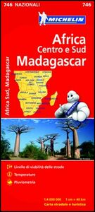 Libro Africa Centro e Sud, Madagascar 1:4.000.000
