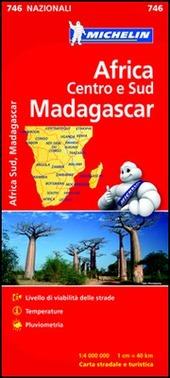 Africa Centro e Sud, Madagascar 1:4.000.000