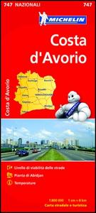 Libro Costa d'Avorio 1:800.000