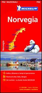 Libro Norvegia 1:1.250.000