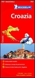 Libro Croazia 1:750.000