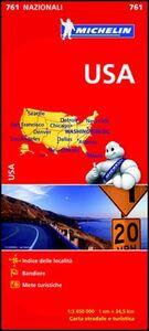 Foto Cover di USA 1:3.450.000, Libro di  edito da Michelin Italiana