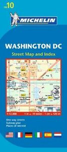 Libro Washington DC 1:12.000